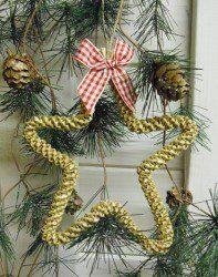 Spiral Christmas Star